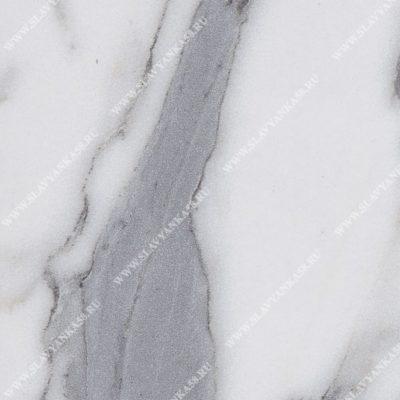 Мрамор белый глянец